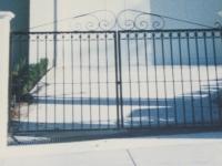 Wrought Iron Double Gates