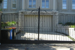 Wrought Iron Double Gates