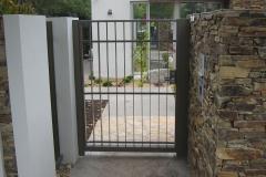 Wrought Iron Pedestrian Gates Melbourne
