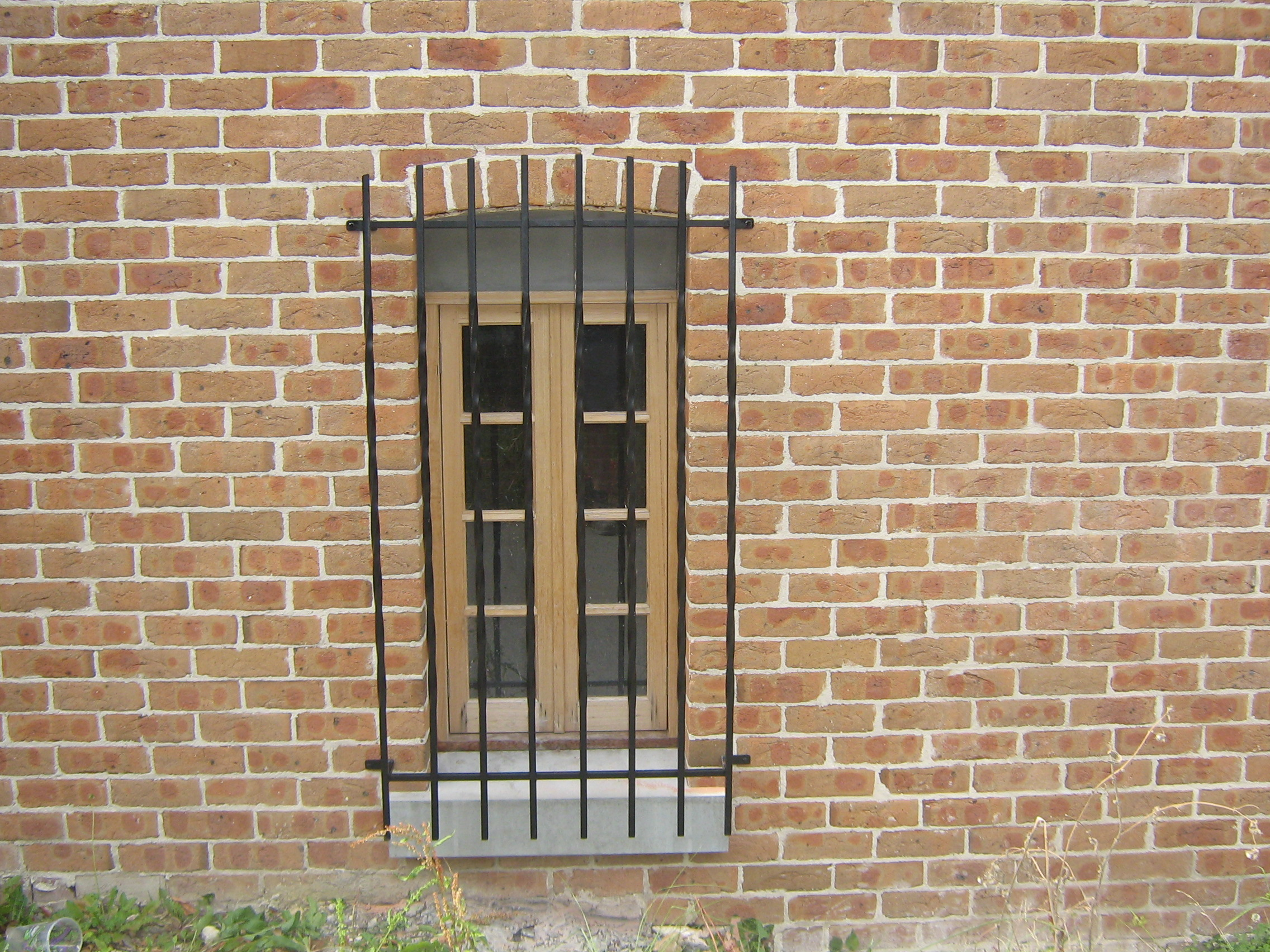 Custom Made Wrought Iron Security Grill Doors Melbourne